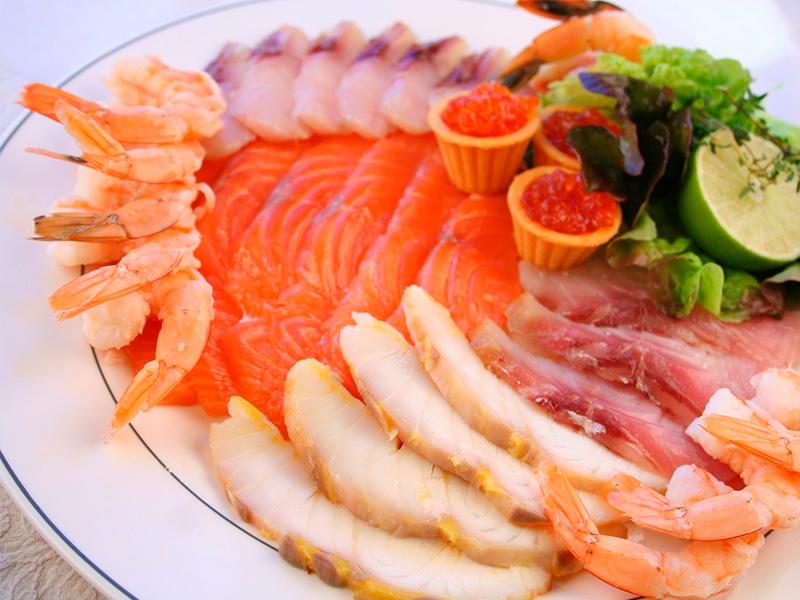 салаты с фотографиями и рецептами для праздничного стола морепродукты рыбные